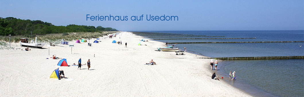 Strand in Koserow auf Usedom